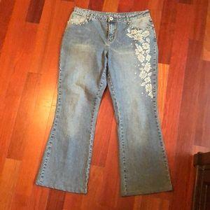 LA blues jeans